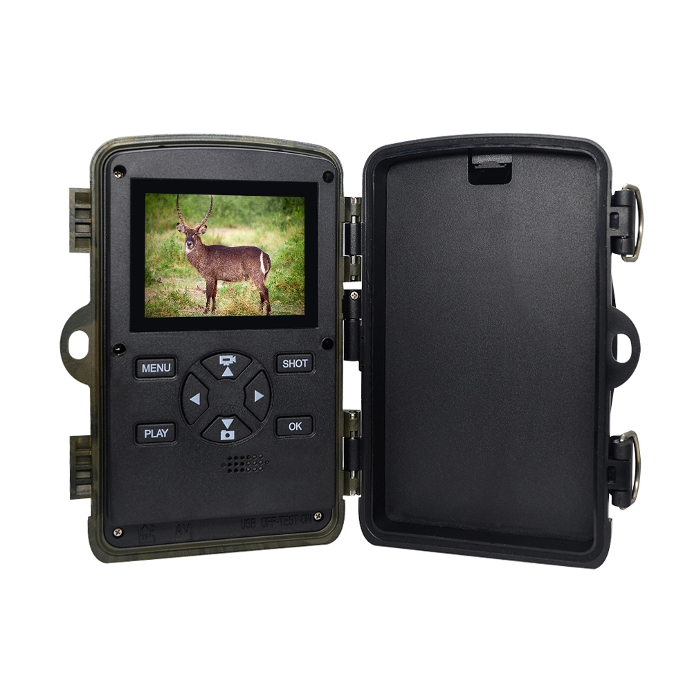 Hunting Trail Camera H885 HD 1080P Night Vision Scouting Infrared Waterproof Wide Angle Super Fast Trigger Speed Hunting CamerHunting Trail Camera H885 HD 1080P Night Vision Scouting Infrared Waterproof Wide Angle Super Fast Trigger Speed Hunting Camer