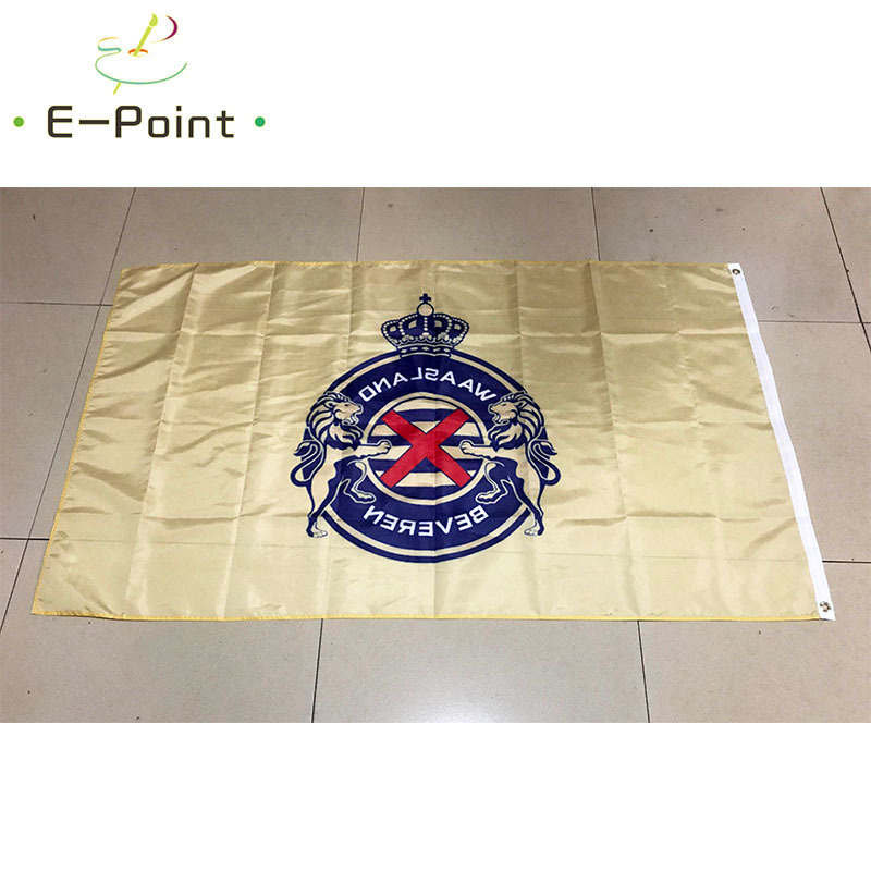 150cm x 90cm Black and Gold Check 5ft x 3ft Flag Banner