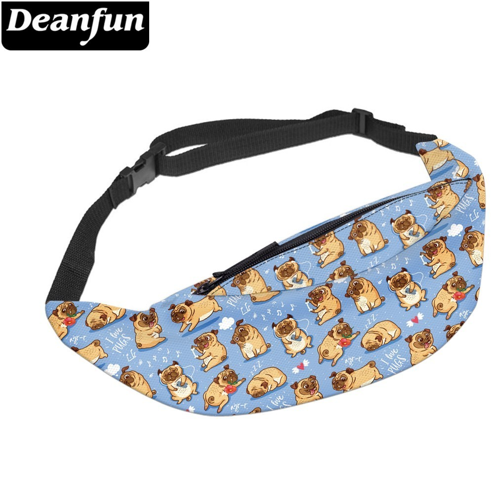 Deanfun Waterproof Waist Pack Belt Bag Waist Bag Chest Shoulder Bag Phone Holder with Adjustable Strap  YB-59(China)