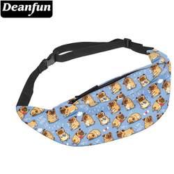Deanfun Водонепроницаемая поясная сумка сумочка на ремне поясная сумка на груди держатель телефона с регулируемым ремешком дропшиппинг YB-59