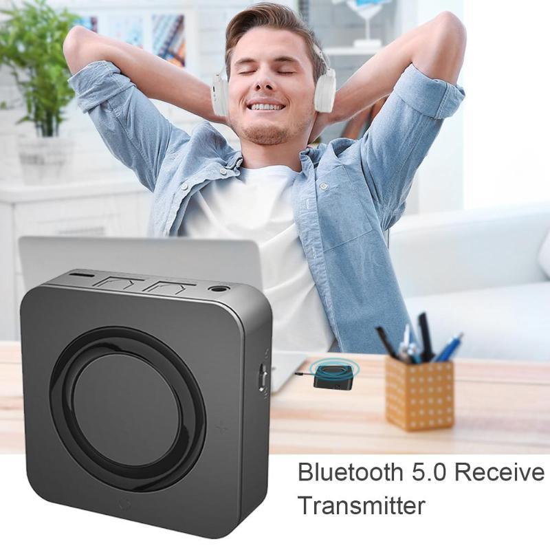 2 en 1 récepteur Bluetooth émetteur voiture AUX Fiber optique adaptateur SPDIF Bluetooth 5.0 récepteur Audio pour voiture casque PC