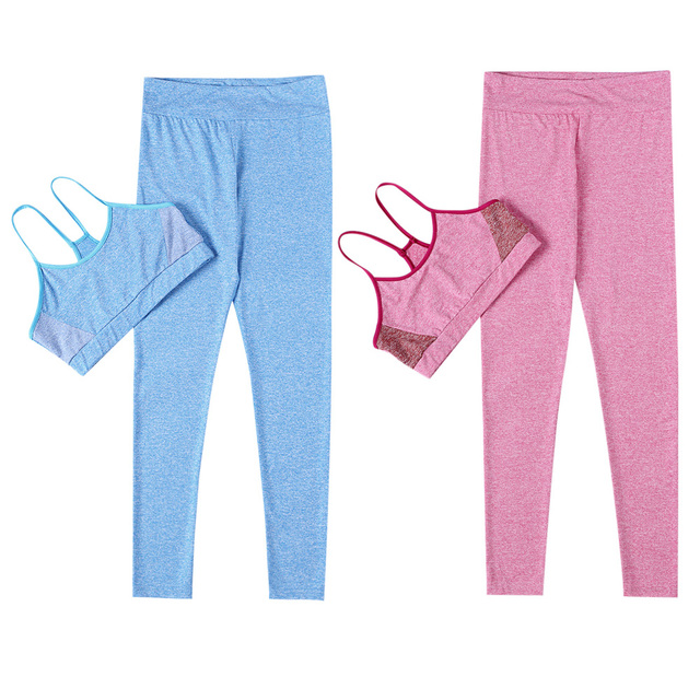 2 Piece Workout Clothing and Tracksuit Set