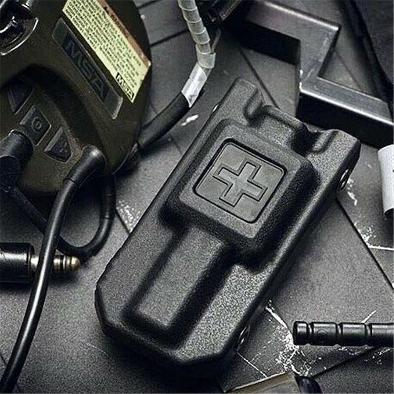 Brand New 2019 Outdoor Black Carrier Pouch Storage Bag Box Holder Case For Outdoor Hunting Molle
