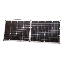 Dokio 18V 100W (2*50W) Foldable Solar Panel 12V Solar Battery Charge Cell Solar panel Sets With 12V/24V  Controller Solar Syste