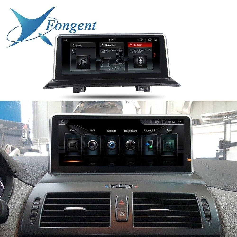 Lecteur Audio de voiture Android 10.25 pouces pour Bmw X3 E83 2004 2005 2006 2007 2008 2009 Gps Navigation unité de tête Audio multimédia Radio