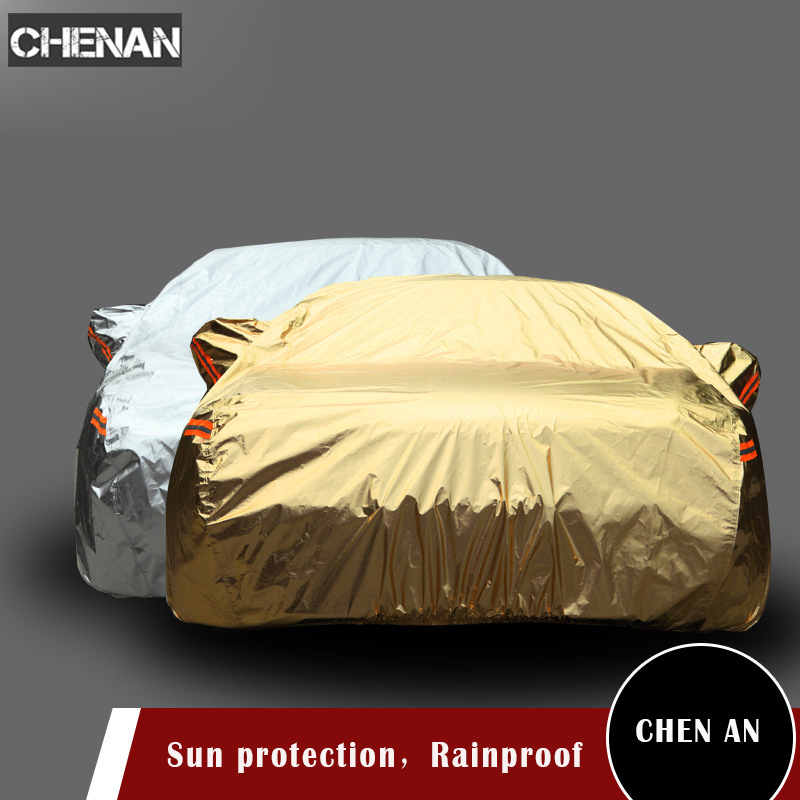 Bâches de voiture imperméables couverture de protection solaire extérieure pour voiture réflecteur poussière pluie neige protection bâche de voiture