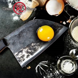 Image 3 - קופיץ סיני בעבודת יד מטבח סכיני שף בישול כלים חג המולד מתנה ירקות בשר חיתוך קמפינג מנגל חיצוני קמפינג