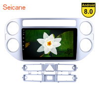 Seicane 9 Inch Android 8.1/8.0 Car Multimedia Player For 2010 2011 2012 2015 VW Volkswagen Tiguan 1080P DVR GPS Navigation Radio