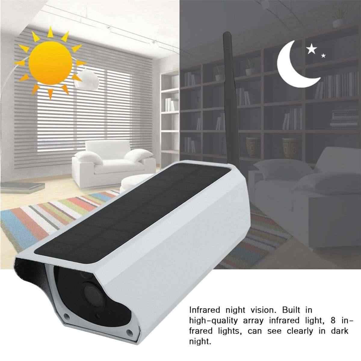 1080 720p ソーラー IP カメラ 2MP ワイヤレス Wi-Fi セキュリティ監視防水屋外カメラ赤外線ナイトビジョン太陽光発電 HD カメラ