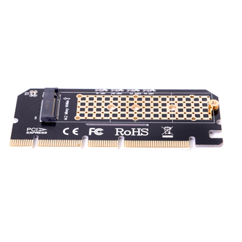 10pcs/lot  Motherboard PCI-E 3.0 16x 4x Adapter to NGFF M-key NVME AHCI SSD for XP941 SM951 PM951 970 960 EVO SSD