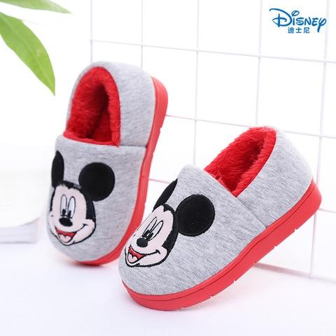 disney mickey minnie 2019 outono inverno sapatos de algodao macio sapatos infantis para meninos criancas