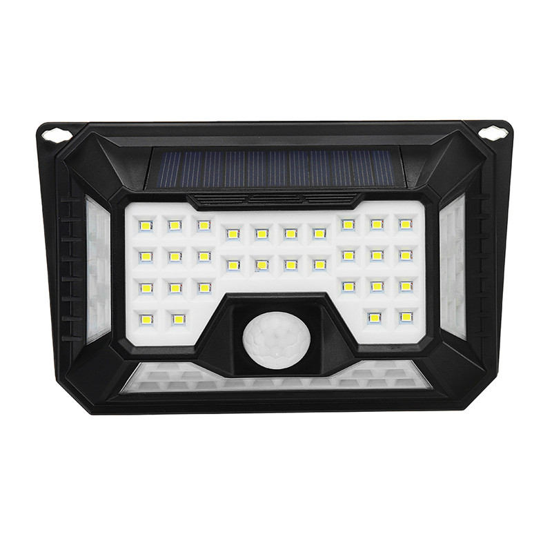 ARILUX  66 LED Solar Light Waterproof3 Modes PIR Motion Sensor Wall Lamp Outdoor Garden Light Emergency Security Solar Light