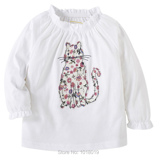 b30090a8 New 2019 Baby Girls t shirt Brand Quality 100% Cotton Baby Girl Clothes  Kids t-shirt Long Sleeve Children Clothing Underwear Tee