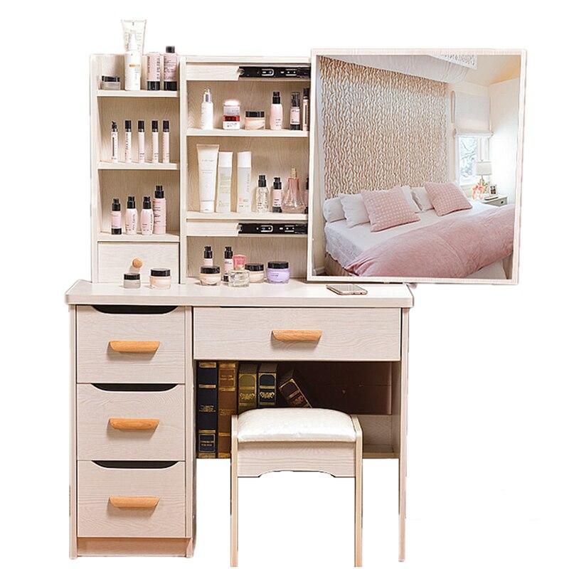 Ensemble De vanité Dresuar Slaapkamer Tocador Maquillaje Penteadeira De Maquiagem bois Quarto meubles De chambre coréenne coiffeuse