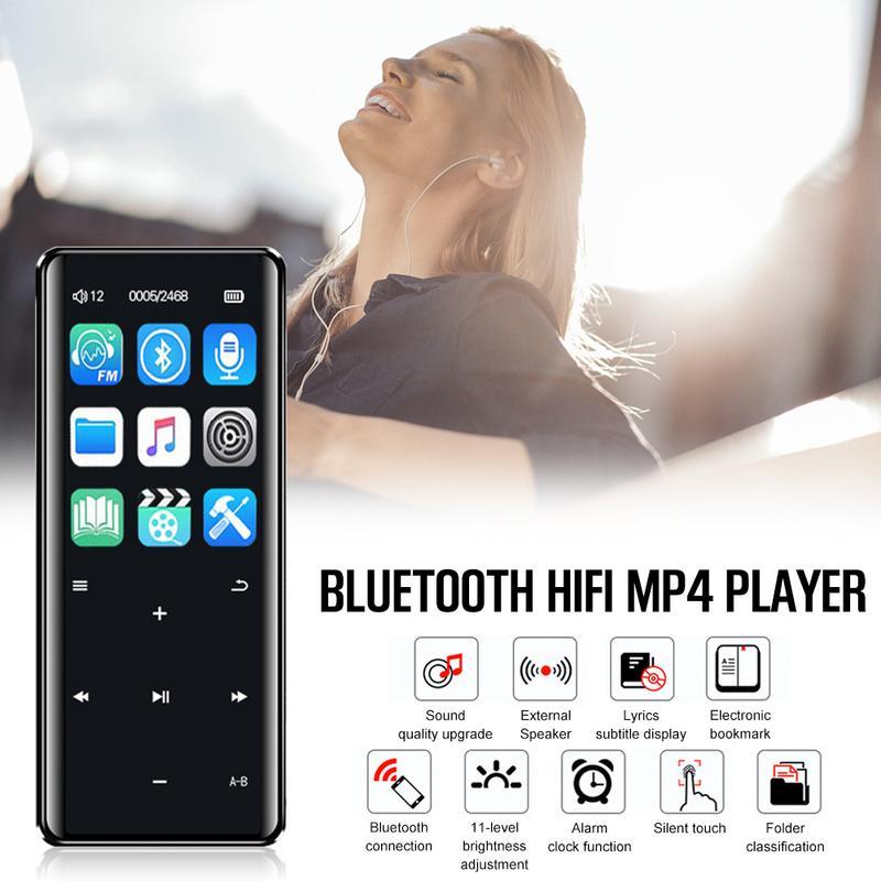 Mp4 Player Offen X5 Mp4 Player 16 Gb 8 Gb Bluetooth Fm Touch Screen Mit Lautsprecher Otg Download Hifi Mp3 Tf Karte Recorder Stift Radio Audio Player Mp4