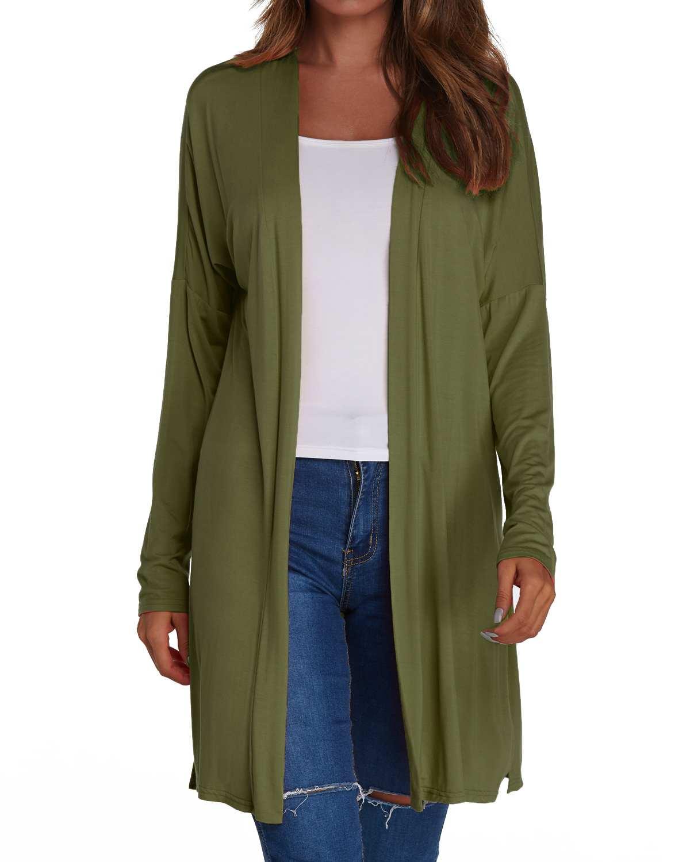 Autumn Thin Cardigan Coats Women Solid kimono Long   Trench   Casual Loose Long Sleeve Split Straight Cardigan Female Sunscreen Tops