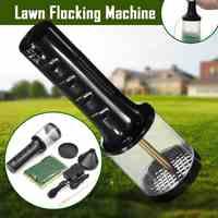 Static Grass Flocking Applicator Portable Flocking Machine O HO N Scale Model Miniature Scenery Plantings Landscape Models