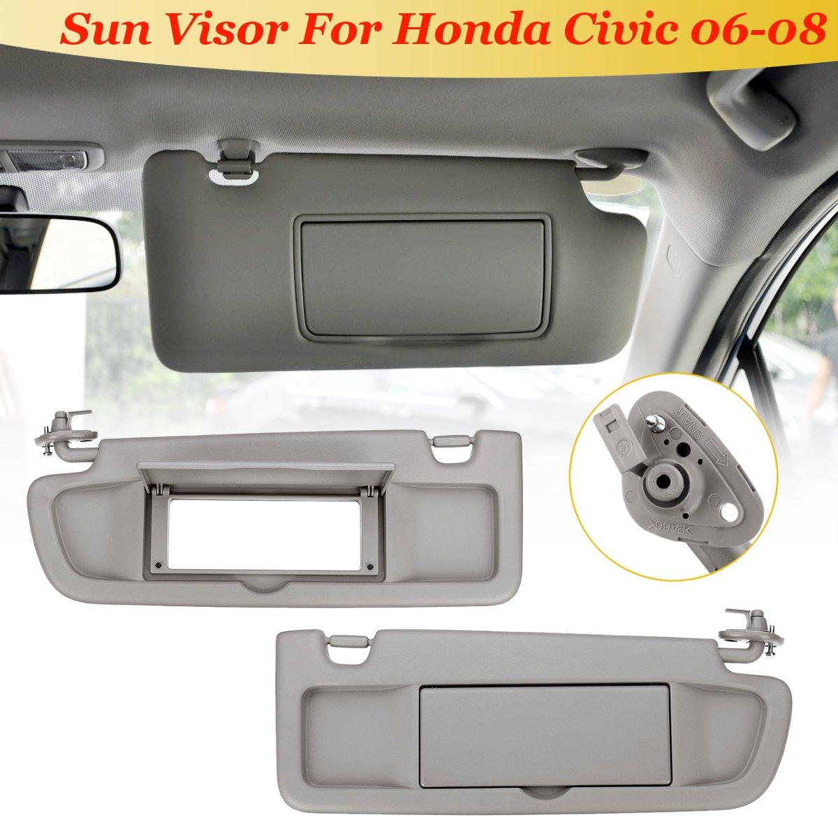 For Honda for Civic for Coupe Sedan 2006 2007 2008 1 Pcs Car LHD Sunvisor  Sunshade Sun Shield Antidazzle Visor 83280SNAA01ZA-in Sun Visors from  Automobiles ... 236d0c89c8f