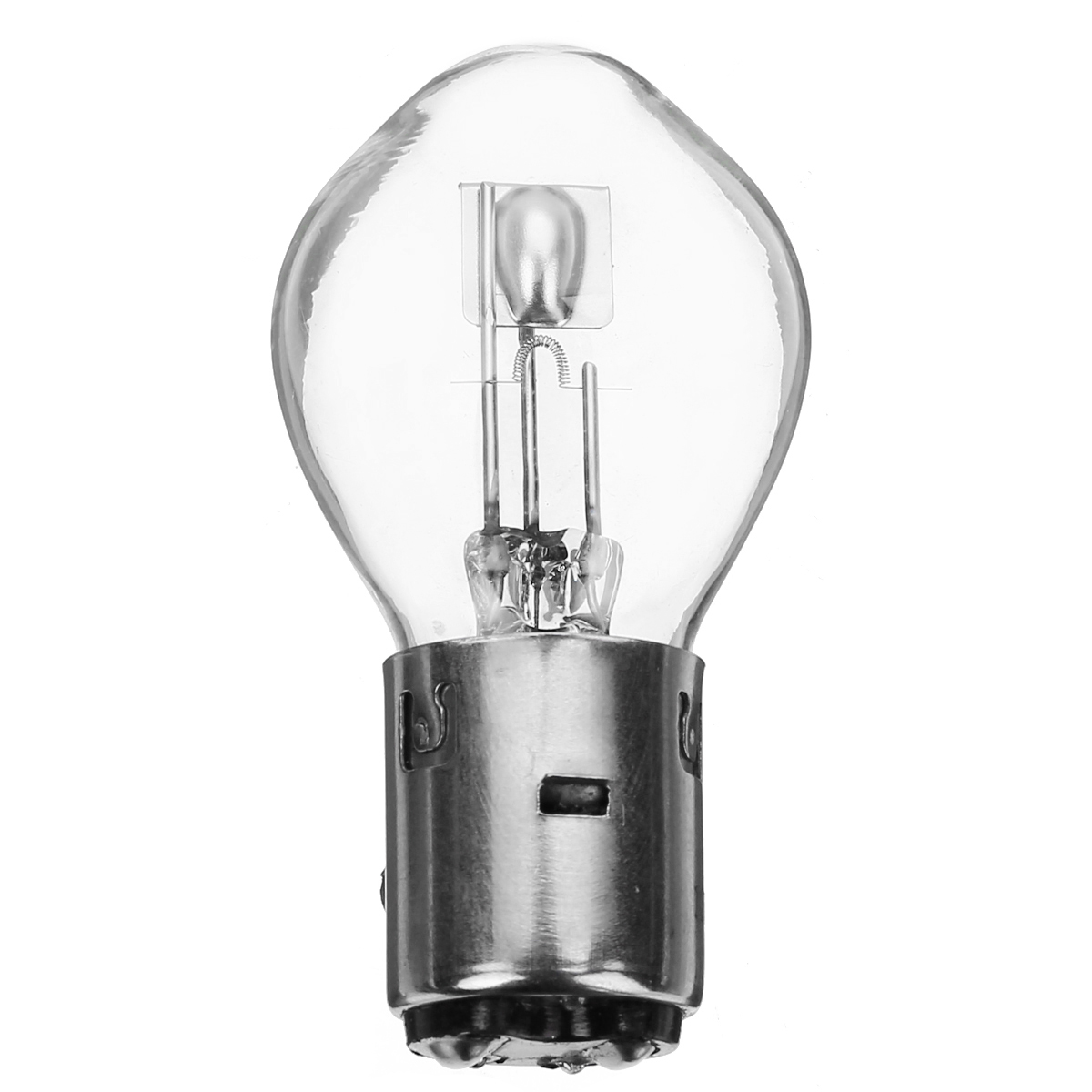 2pcs 12V BA20D H6 35//35w Motorcycle Halogen LED Headlight Bulb White
