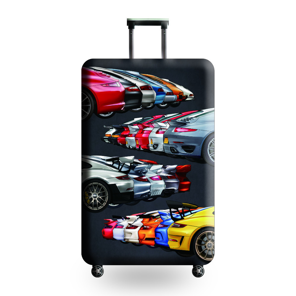 JULY 39 S SONG High quality Luggage Suitcase cover Hot sale Travel accessories Elastic dust cover Suitable for 18 39 39 32 39 39 suitcase in Travel Accessories from Luggage amp Bags