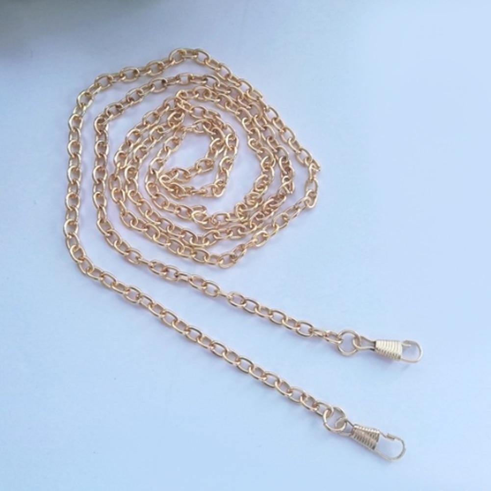 120cm/40cm/60cm Metal Chain For Shoulder Bags Handbag Buckle Replacement Handbag Shoulder Bag Accessories DIY Belt For Bag Strap