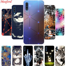 6.4 Cover For Samsung Galaxy A50 Case Silicone Cool Print Soft TPU Phone A 50 A505F Coque Funda Capa