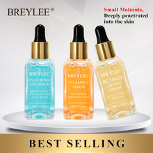 Breylee Serum Series Hyaluronic Acid Moisturizing Vitamin C Whitening Face Skin Care Retinol Lifting Firming Anti Aging Essence