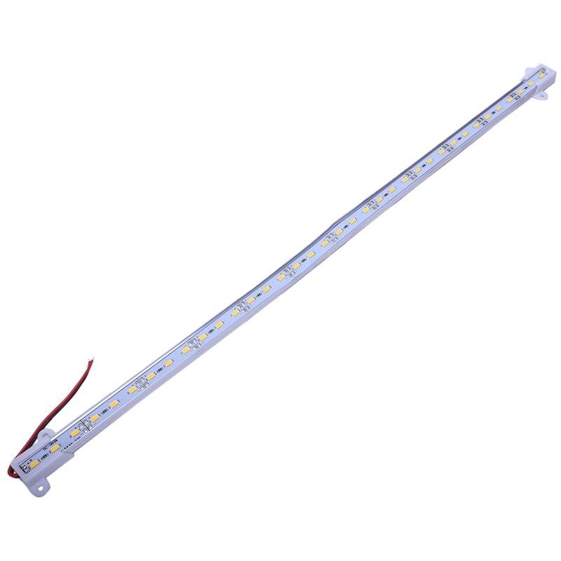 New 50CM 12V 36 LED 5630 SMD Hard Strip Bar Light Aluminum Rigid White