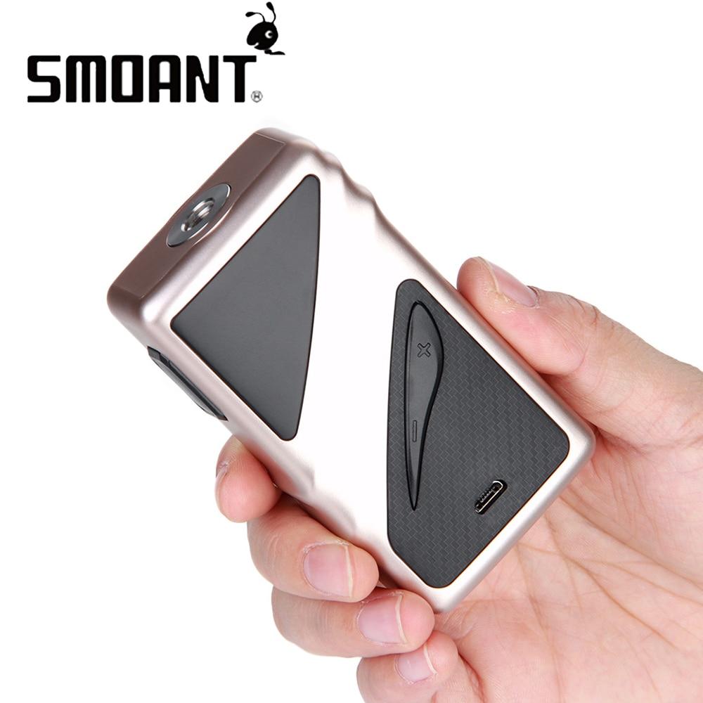 100% Original Smoant Taggerz 200 W mod boîte à cigarettes électronique Mod avec écran OLED pas de batterie e-cigs vaporisateur vs glisser 2/MIni