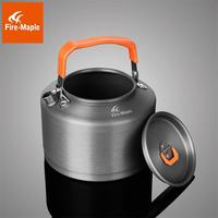 Fire Maple Outdoor Camping Picnic Portable hard anodized aluminum Teapot cookout boiling kettle Coffee Pot coffeemaker 1.5