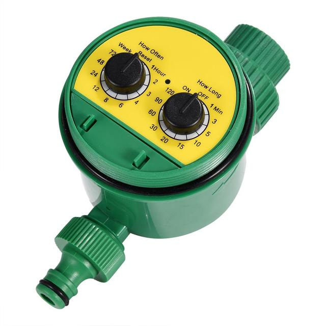 Multi-function Two Dial Automatic Garden Water Timer Electronic Watering Timer Garden Irrigation System Controller Tool