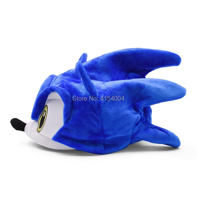 Oyuncaklar ve Hobi Ürünleri'ten Filmler ve TV'de 20 adet/grup Toptan Oyuncaklar Sonic Ayarlanabilir Sonic Şapka Karikatür Yaz Şapka Yumuşak peluş oyuncak Bir Boyut Sıcak Satış noel hediyesi'da  Grup 2