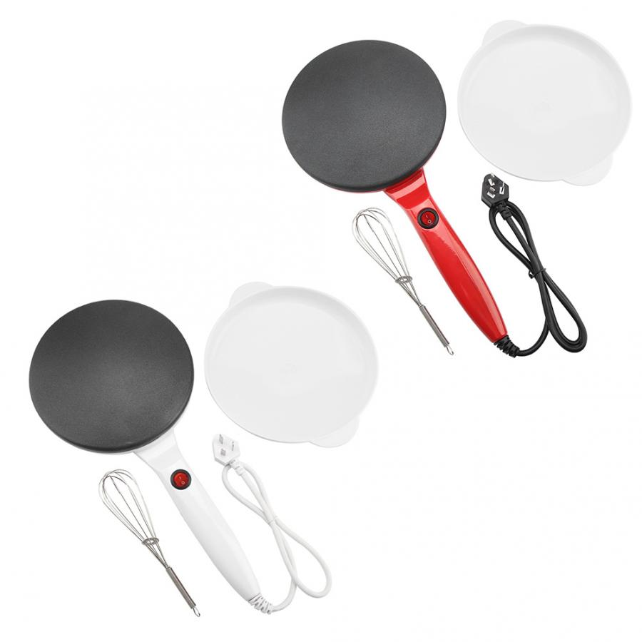 Non-Stick Pancake Maker 1# Electric Round Non-Stick Pancake Maker Crepe Machine Frying Pan Pizza Baking Tools