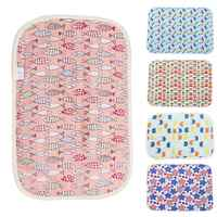 3 Layers Baby Changing Pads Covers Reusable Baby Diapers Mattress Cushion for Newborn Waterproof Sheet Changing Mat