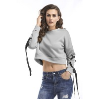 O approach Association Long Shell Women Short Sweatshirt Sweatshirt Training Suit Casual Streetwear Women Clothing Beige Tops