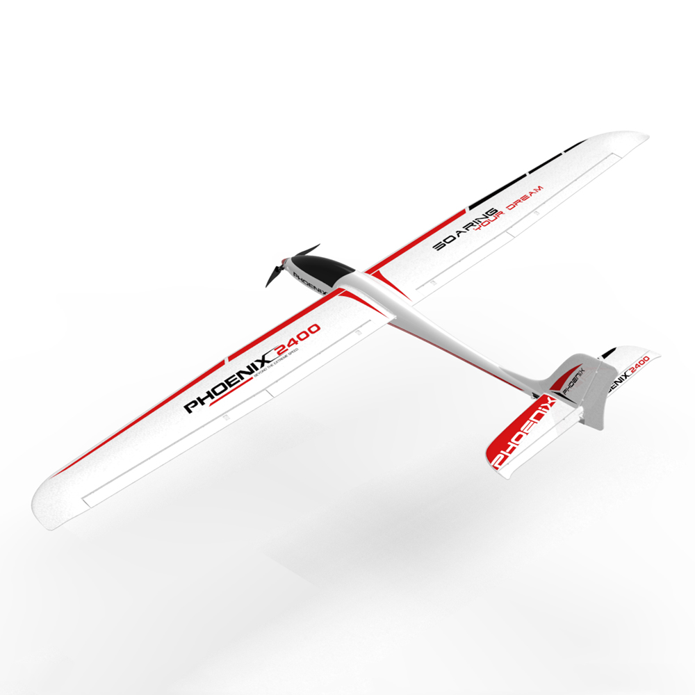New Arrivals Volantex 759-3 2400 2400mm Wingspan EPO RC Glidering Airplane KIT/PNP For Kids Gift