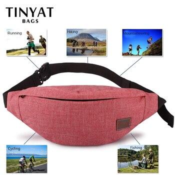 TINYAT Casual Waist Bag  2