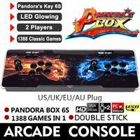 720 P 1388 в 1 Pandora's Box 6 S герои Шторм Аркада игровой консоли двойной палки для ТВ PC PS3 монитор Поддержка HDMI, VGA, USB