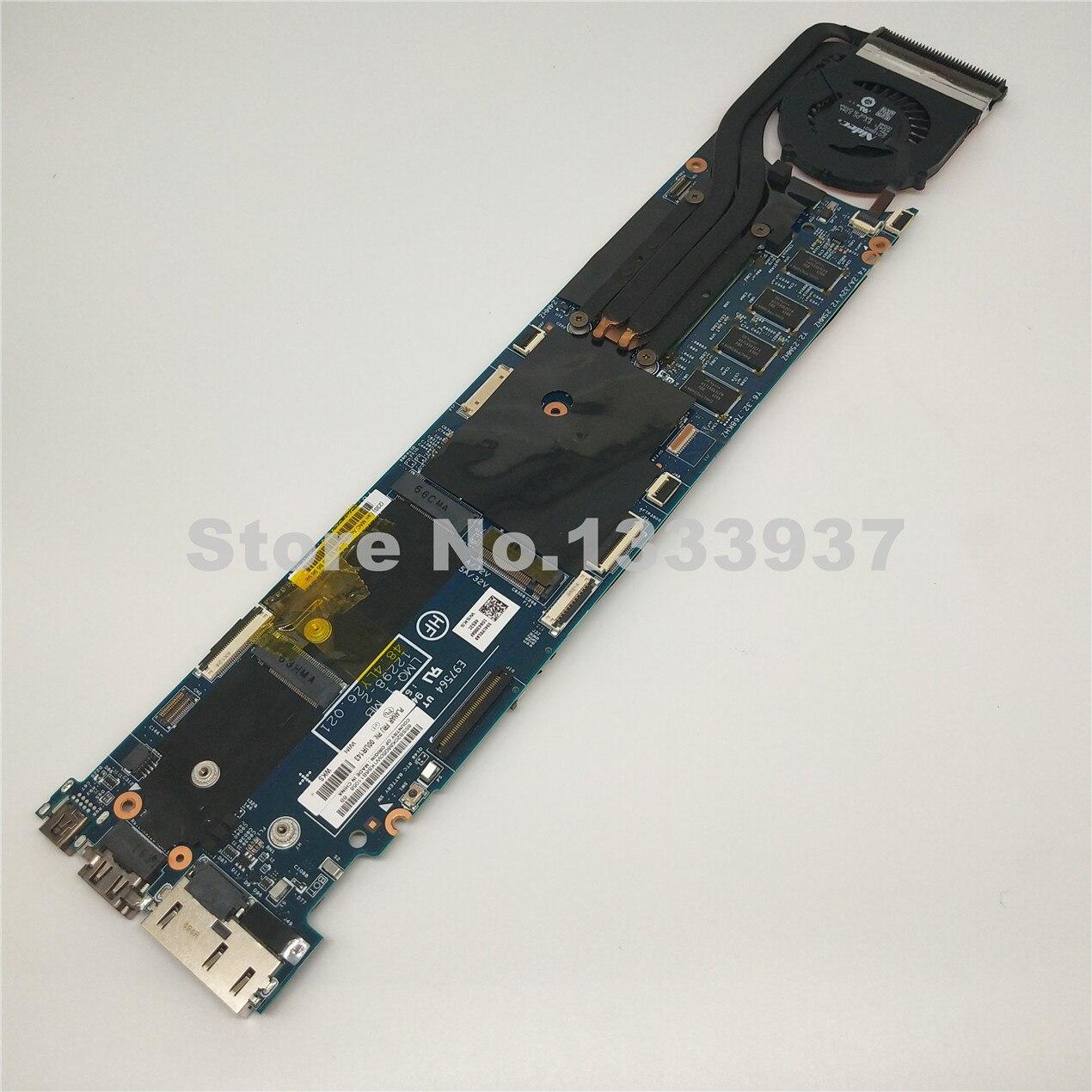 00ur143 Für Lenovo Thinkpad X1c X1 Carbon Laptop Motherboard Lmq-1 Mb 12298-2 48.4ly26.021 Mit I5-4200 Cpu 4g Ram Mainboard Verkaufsrabatt 50-70%