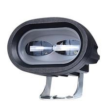 1 шт. 6D 20 Вт светодиодный рабочий светильник для вождения автомобиля, противотуманный Точечный светильник для внедорожников, светодиодный рабочий светильник для автомобиля, грузовика, внедорожника, квадроцикла, светодиодный автомобильный модифицированный Стайлинг