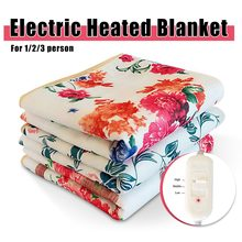 Warm Blanket Electric Heated Blanket 220v Electric Blanket Single Manta Electrica Electric Heating Blanket Carpets Heated Mat