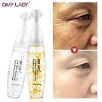 OMYLADY Collagen 24K Gold+Silver Silk Ampoule Serum Anti-Aging Lighten Spots Hyaluronic acid Moisturizing Whitening Skin Care Face Care Serum