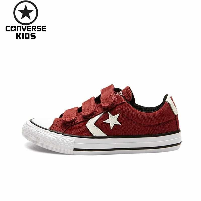 c12d7587b3263b CONVERSE Child Shoes CONS Star Arrows Magic Subsidies Sneakers Children  Canvas Shoe For Boy And Girl