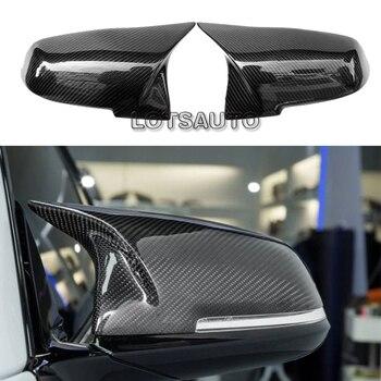 BMW için F30 F32 F33 F20 F22 F23 F36 X1 Ayna M3 M4 Görünüm Dikiz Aynası Kapağı F20 f30 F22 F36 F23 F87 M2 karbon ayna