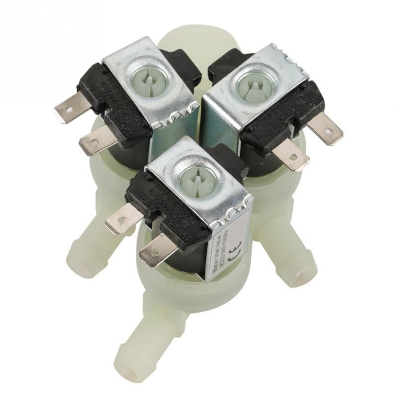 Heißer G3/4 Zoll 3 Weg Sanitär Wasser Einlass N/c Normale Geschlossen Elektrische Magnetventil Ac 220 V
