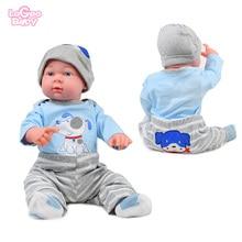 Reborn Baby doll clothes for 50cm-55cm silicone baby Children Toy DIY Newborn bebes reborn Set