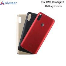 Alesser For UMI Umidigi F1 غطاء البطارية مع تبديد الحرارة استبدال ضئيلة ل UMI Umidigi F1 اللعب غطاء البطارية