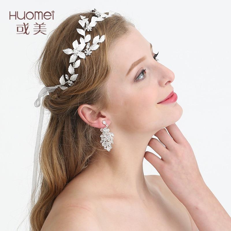 New Arrival Zinc Alloy Hair Jewelry High Quality Headband Beautiful Bride Wedding Dress Accessories Handmade Bride HeadwearD2210