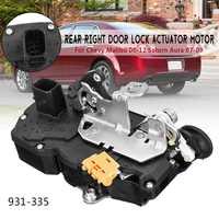 Door Lock Actuator Motor Rear Right For Chevy 2008 2012 for Saturn Aura 2007 2009 931 335