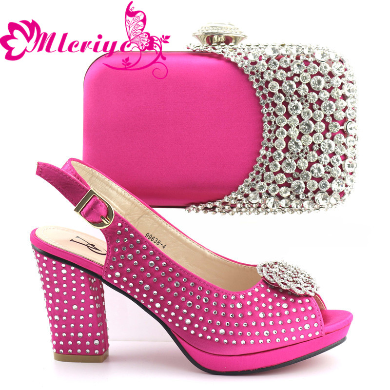 10119 Shoes and Bag Sets for Women Matching Shoes and Bag Set In Heels Italian Ladies Shoe and Bag Set Decorated with Stone10119 Shoes and Bag Sets for Women Matching Shoes and Bag Set In Heels Italian Ladies Shoe and Bag Set Decorated with Stone